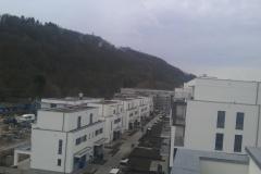 Wohnpark mit Doppelhäusern